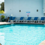 outdoor pool at Flagler Inn